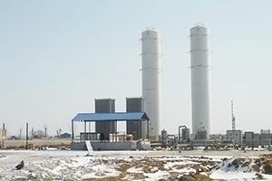 煤改气项目气化站