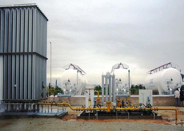 工业气体气化站