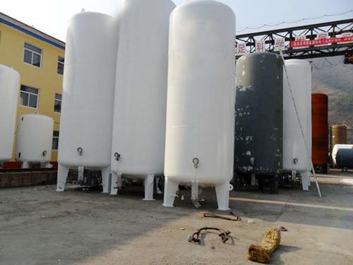 液氧储罐的低温液体危险特性分析