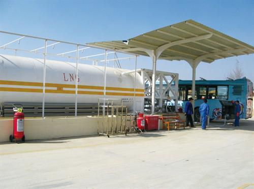 LNG加气站操作过程的危险性