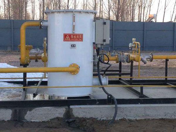 气化站复热系统