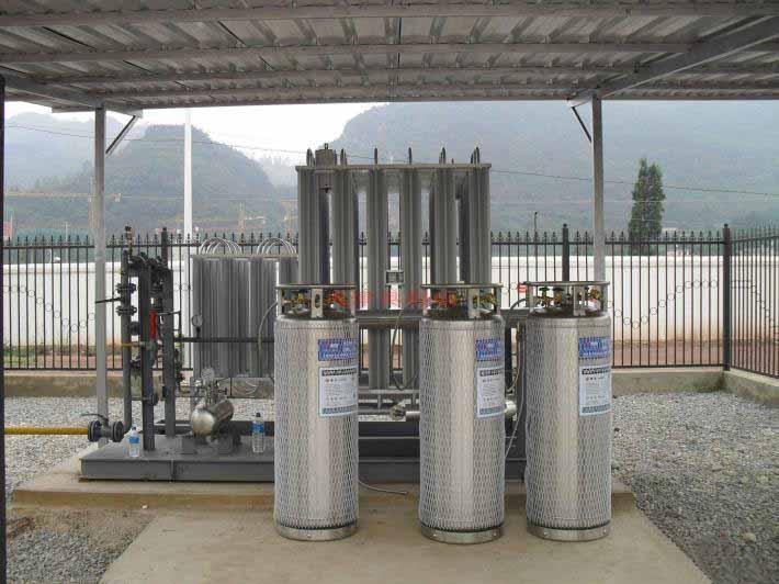 LNG瓶组撬