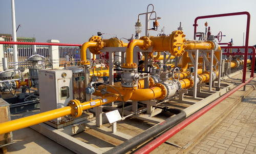 煤改气点供设备卸车工艺流程