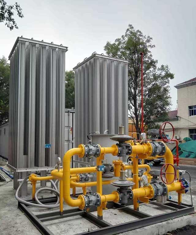 LNG气化调压撬的设备构成